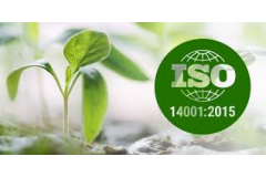 Environmental ISO 14001:2015 certification